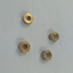 Hexagonal Brass Hex Nut, For Industrial, Size: 8mm