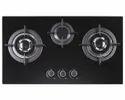 Carysil Built-in 3 Burner Hob (salsa 78-3 ), For Kitchen, Knob Type: Metal