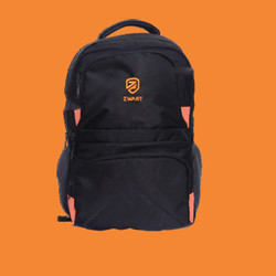 25 L Zwart Laptop Backpack