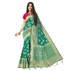 1847 Women's Jacquard Silk Saree