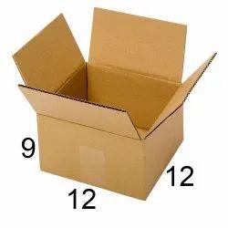 Brown Corrugated Cartoon Box