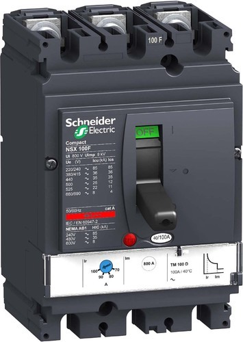 Schneider Mccb Moulded Case Circuit Breaker At Rs 900 Nos