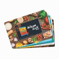 PP Plastic Promotional Table Mats