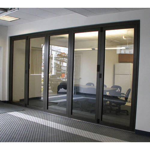 Aluminium Frame Glass Partition At Rs 260 Square Feet