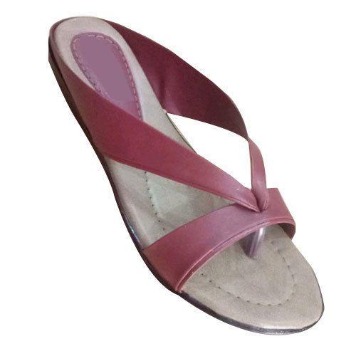 6355aa9aea7f Maroon Ladies Flip Flop Sandal