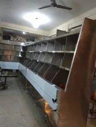 Stainless Steel Ss Vegetable Racks, For Vegetable/ Fruits Shop