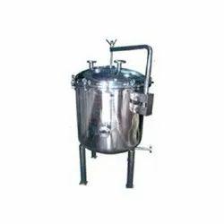 Nutsche Filter Vacuum And Pressure Operation