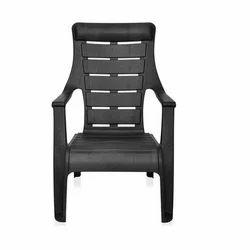 Black Nilkamal Plastic Chair