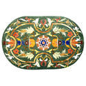 Udaipur Green Marble Inlay Table Top