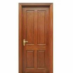 Designer Wooden Door, Thickness: 30mm