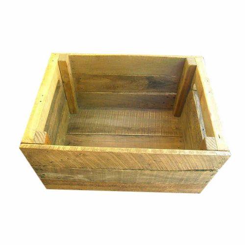 junglewood rectangle open wooden box rs 300 piece mahalaxmi