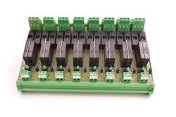 Double Changeover Relay Module - 8 Channel Module