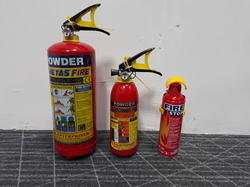 Powdered Fire Extinguisher