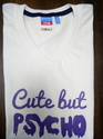 Female Text Printed T-Shirts