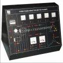 Three Phase Induction Motor Trainer Kit