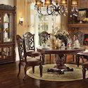 Aarsun Standard Wooden Carved Dining Set For Home