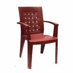 4 Kg Fixed Arms Plastic Chair