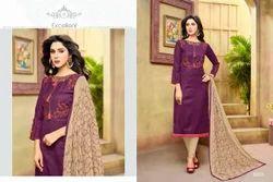 3/4 Sleeve Havya Salwar Suit Fabric