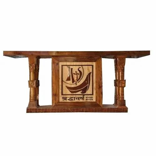 Image result for wooden Altar table