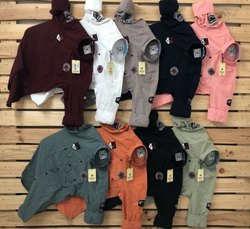 Multi Brand Casual Wear Men''S Plain Cotton Shirts, Machine wash, Size: M L Xl