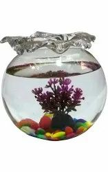 Transparent Glass Fish Aquariums, Packaging Type: Box, Size: 8 Inch