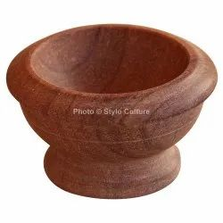 Supreme Brown Sandstone 3.75 Inch Dessert Bowl