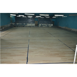 Air Cush Wooden Sports Flooring