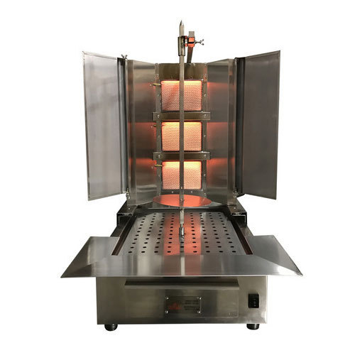 Gas AR Mechanics SS Shawarma Machine, Number Of Gas Burners: 1, for Restaurant