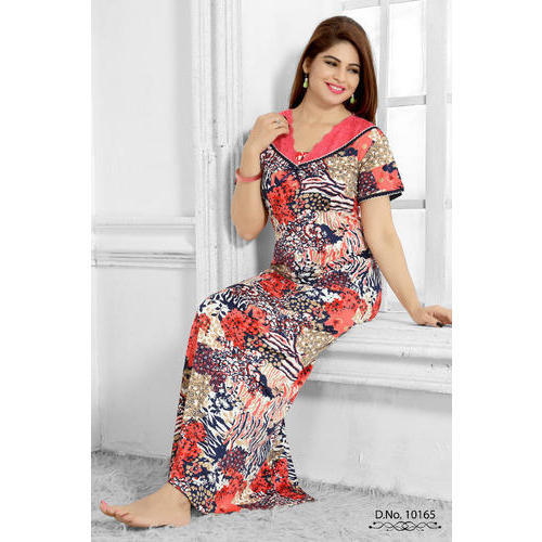 2af3774f5e Long Ladies Designer Nighty