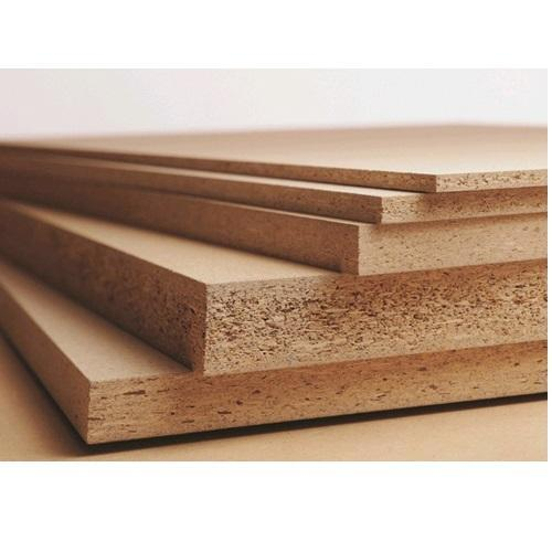 Brown Pre Laminated Particle Board Thickness 2 8 Mm