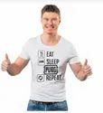 Eat Sleep Pubg Repeat Half Sleeve Tshirt