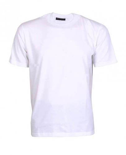 3d078a9ab Cotton And Silk WHITE Sublimation T Shirt(poly Cotton Material), Rs ...