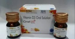 CHOLECALCIFROLE D3 ORAL SOLUTION (SUGAR FREE)
