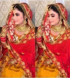 Unstitched As Shown Heavy Punjabi Patiala Silk Salwar Suit
