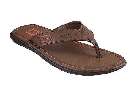 franco leone leather slippers