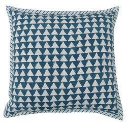 Dark Blue Hand Block Printed Cushion Cover