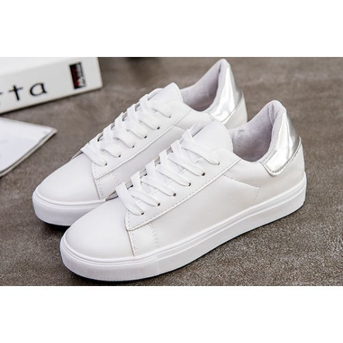 sold worldwide half price new concept Women White Sneakers
