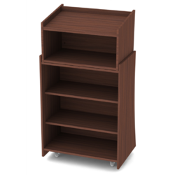 Three Shelve Podium