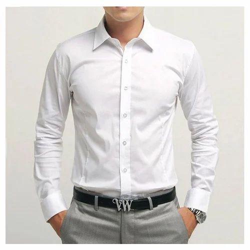 ff96614fd563 Men Cotton S Slim Fit Formal Shirt, Size: 38,40,42,44, Rs 2499 ...