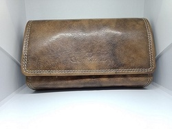 Mon Exports Plain High Quality And Genuine Leather Women''s Purse