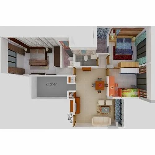 Interior Design Services At Rs 50