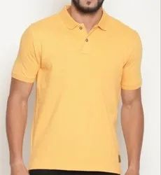 Mens Collar Half Sleeve T Shirt