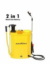 Yellow Battery Powered Knapsack Sprayer, 10.15kg, Model Name/Number: Neptune