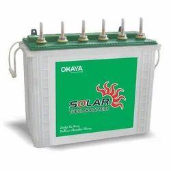 Okaya Solar Tubular Battery 150 Ah, 12 V, Model Name/Number: ST150H