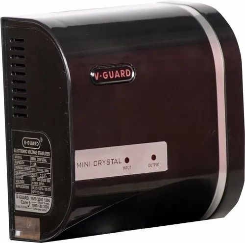V-Guard Mini Crystal TV Voltage Stabilizer