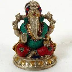 Capstona Brass Ganesh Idols