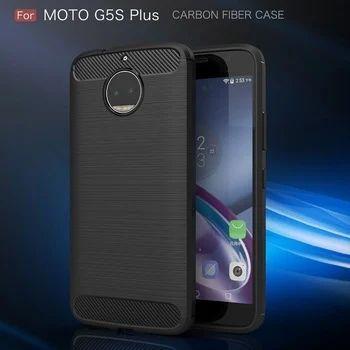 Motorola G5s Plus Mobile Back Cover - Brushed TPU Armor