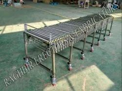 Expandable Gravity Roller Conveyor
