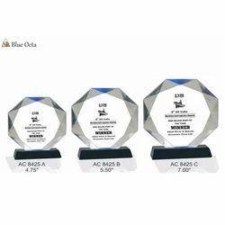 Acrylic Blue Octa Awards