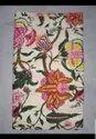 Floral Print Vintage Kantha Quilt